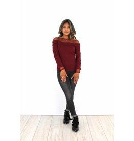 Bordeaux sweater