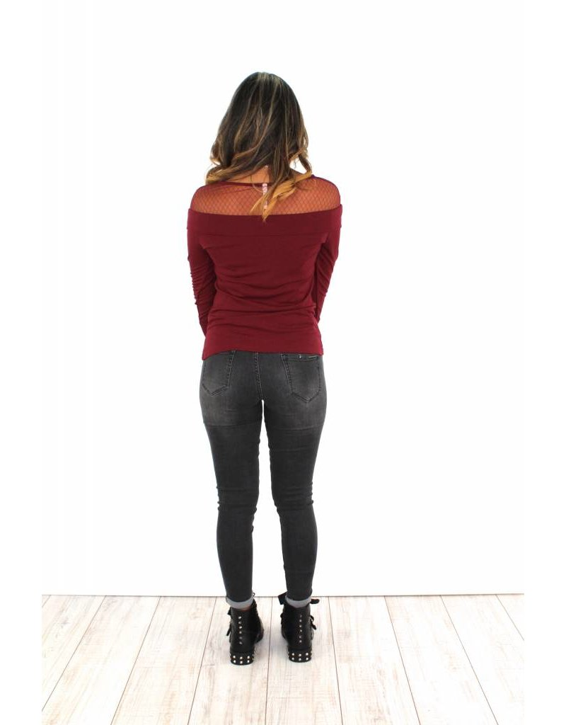 Bordeaux sweater H313