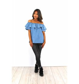 Jeans top pearl