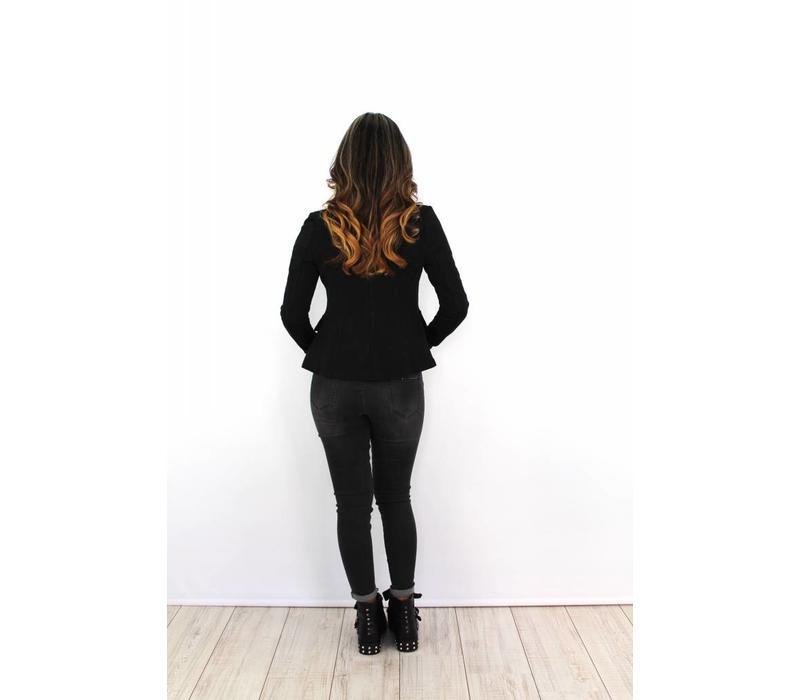 Black jacket J-9701