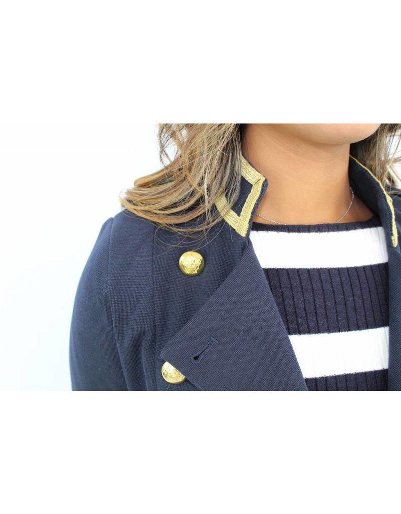 Blue pilot jacket JW129