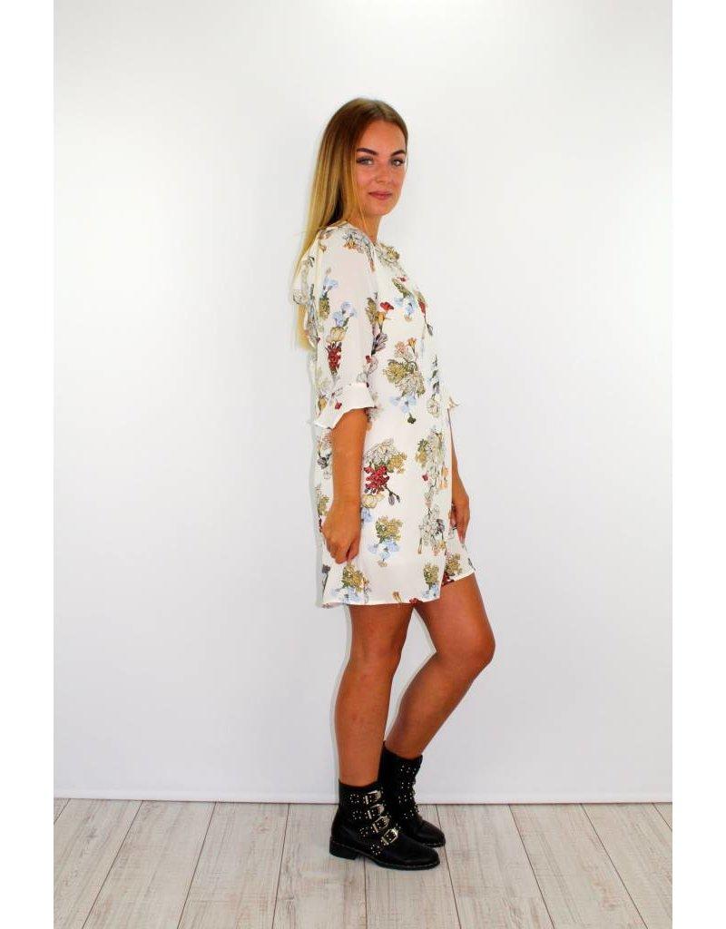 White flower dress HU900