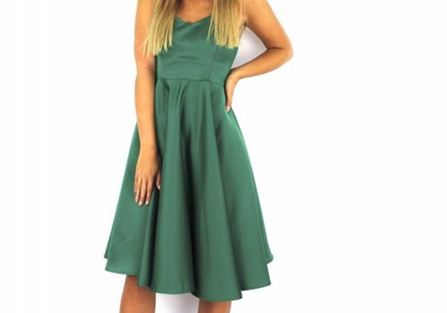 F&P Green party dress