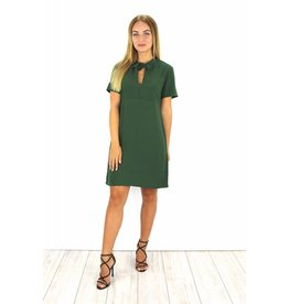 Green classy dress