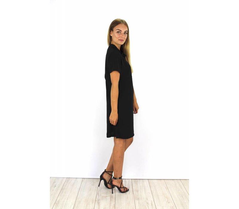 Black classy dress S3