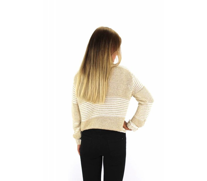 Gold sweater 8618