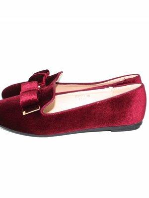 Sergio Todzi Red velvet ballerina's
