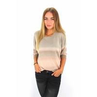 Glitter sweater cool gray