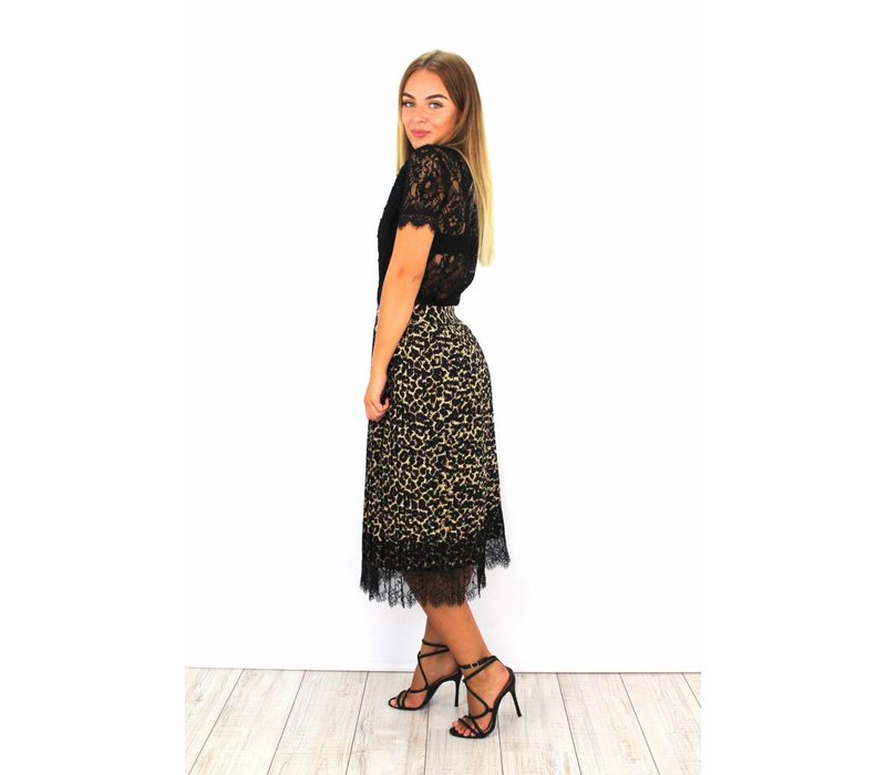 Long panter skirt