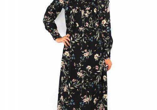 Elli White Long flower dress