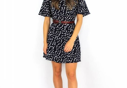 Vera & Lucy Blue dress dots