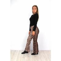 Flared panter pants