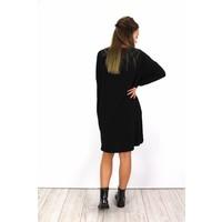 Black sweater dress M4-297