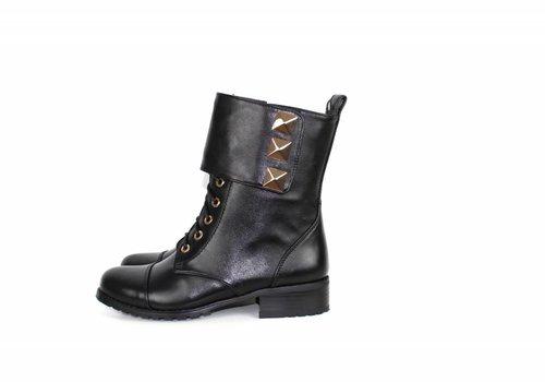 Just Dai Black Boots LV