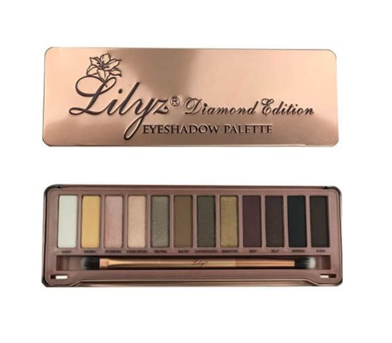 Eyeshadow palette Miss Ty