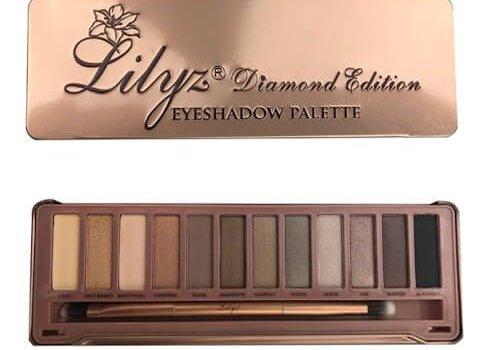 Eyeshadow palette Miss Glam