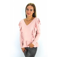 Pink sweater H1826