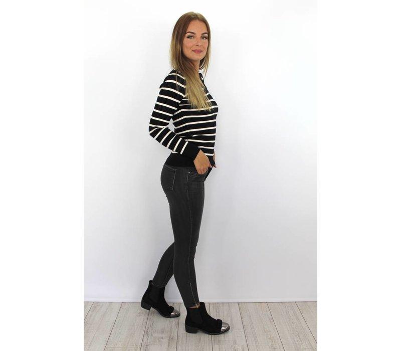 Grey jeans 9123