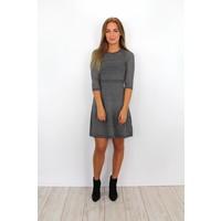 Grey girly dress