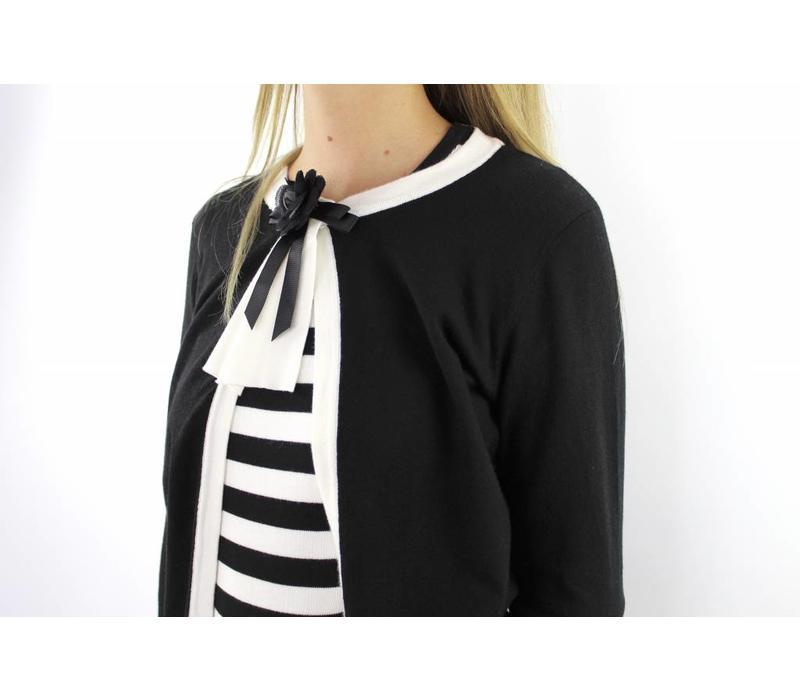 Black cute vest CD9553