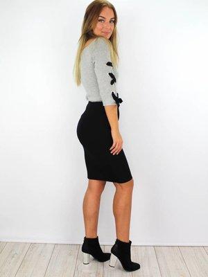 Léa Black skirt
