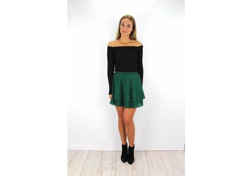 Skirt green dot