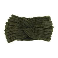 Headband knot kaki