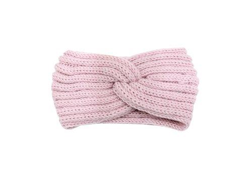 Hoofdband knot pink