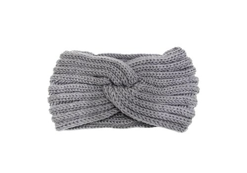 Haarband knot grey