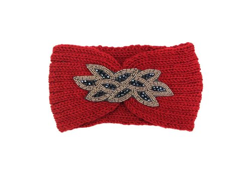 Hoofdband sparkle red