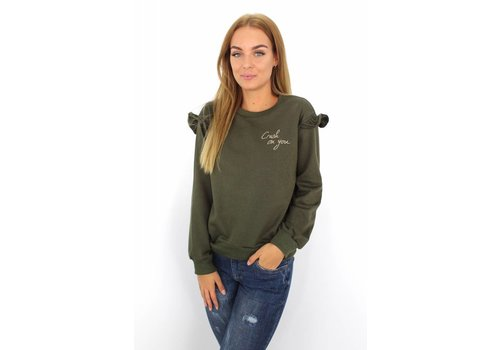 Sweater green Crush On You
