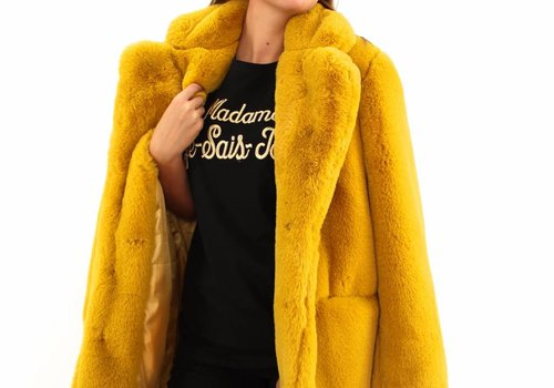 Fake fur coat  Y