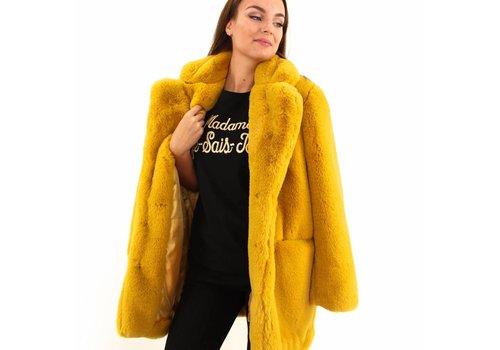 Fake fur coat  Y