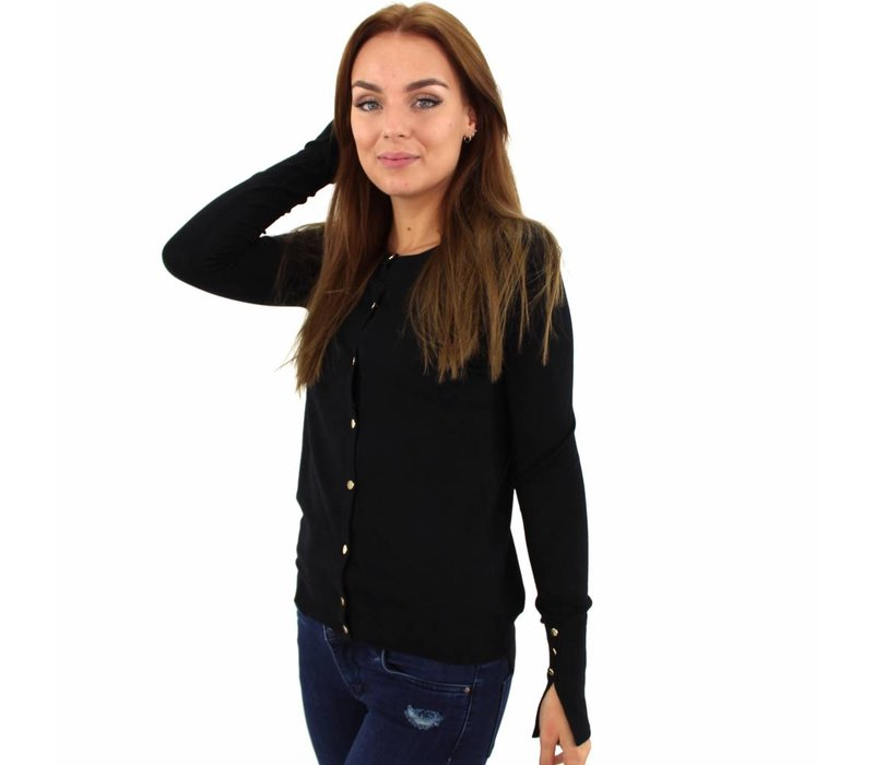 Black cardigan D13