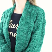 Garconne cardigan green