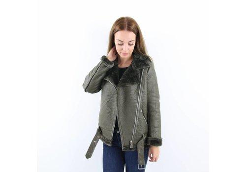 Olive pilot jacket Romerly