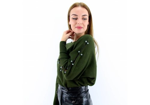 Jumper green pearl May