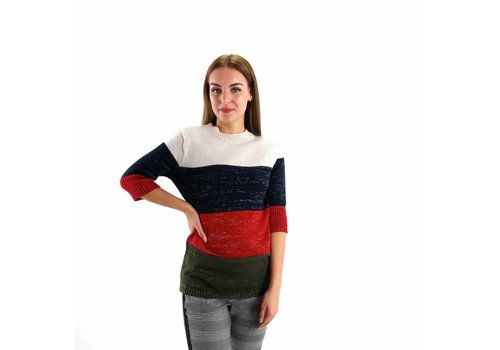 Jumper 4 colors striped Spain