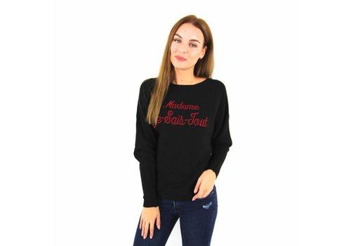 Madame Je Sais Tout black/red