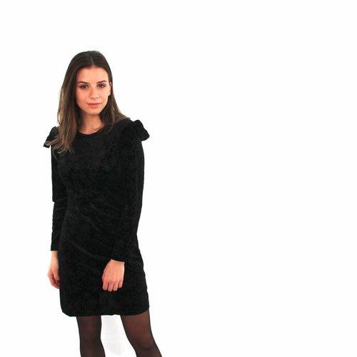 Aïkha Black cute star dress
