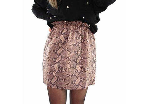 Brown snake skirt