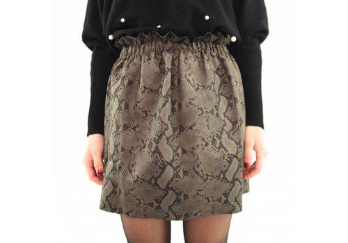 Green snake skirt