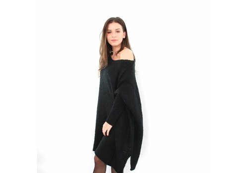 Black over sized sweater