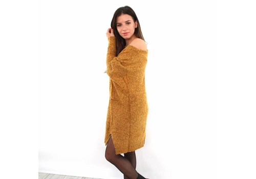 Mustard over sized sweater