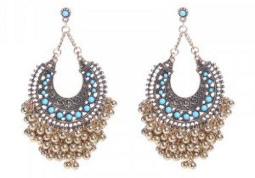 Earrings turquoise fantasy