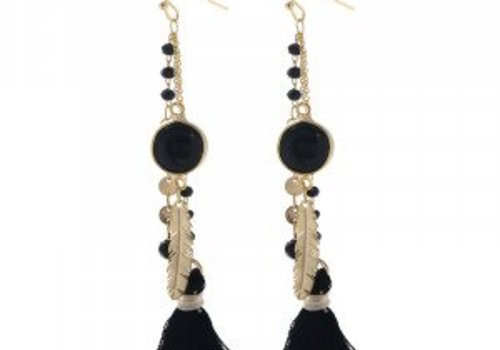 Earrings indian queen bl