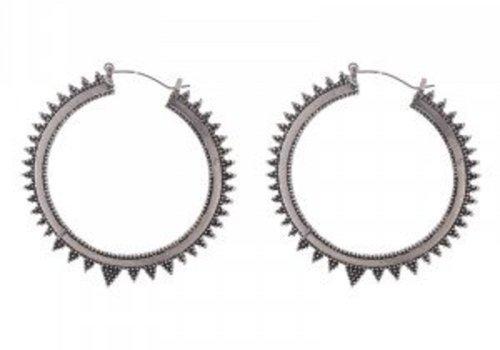 Earrings trendy hoops