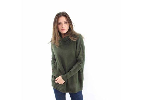 Col sweater Whoo green