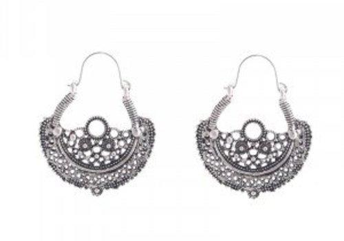 Earrings ethnic beauty