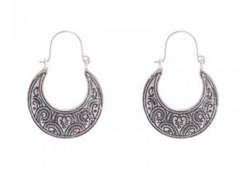 Earrings ethnic majesty